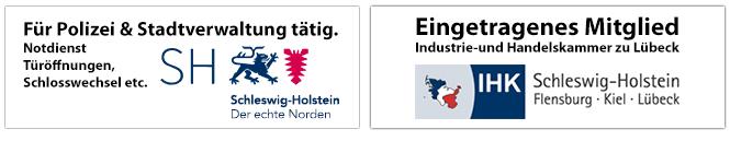 HIS GmbH und Schlüsseldienst für Polizei und Stadtverwaltung Lübeck tätig