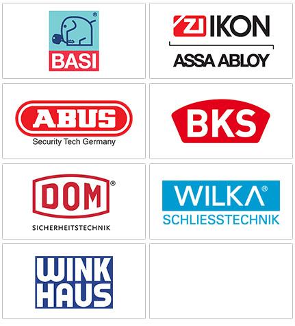 HIS Sicherheitstechnik der Schlüsseldienst Lübeck arbeitet mit namenhaften Herstellern