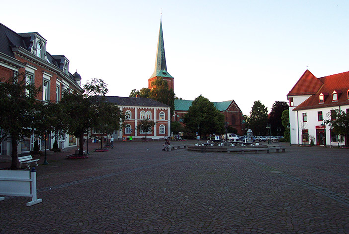 Marktplatz Bad Segeberg