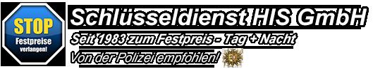 Schlüsseldienst HIS GmbH | Türöffnungen zum Festpreis Logo