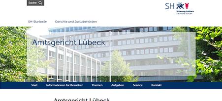 Amtsgericht Lübeck in Koop mit unserem Schlüsseldienst