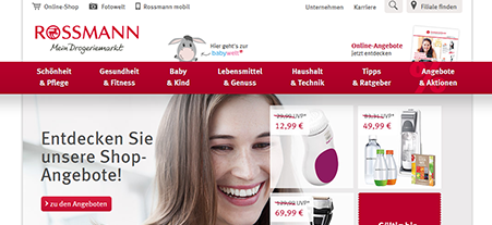 Zusammenarbeit mit Dirk Rossmann GmbH