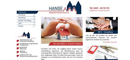 Hanse Immobilien-Verwaltung in Lübeck