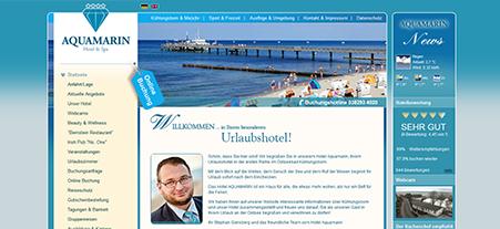 Zusammenarbeit mit Hotel Aquamarin in Lübeck