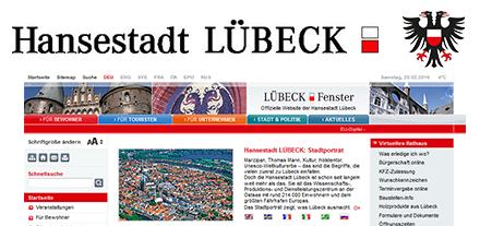 Als Schlüsseldienst für die Stadtverwaltung Lübeck tätig